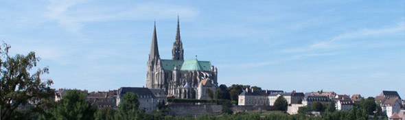 Chartres panorama